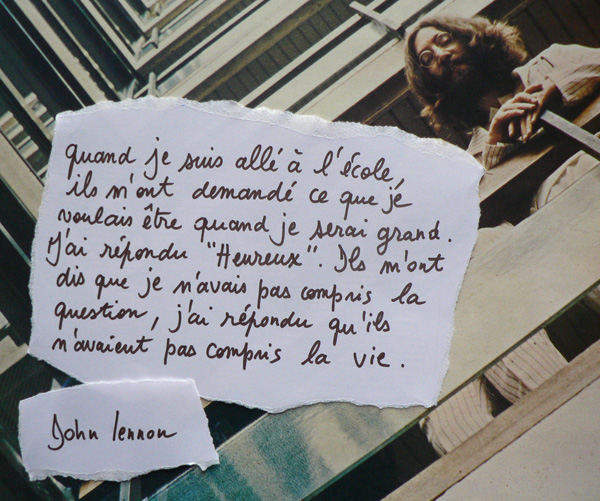 Proverbes et citations (lien vers le topic) John_lennon_citation