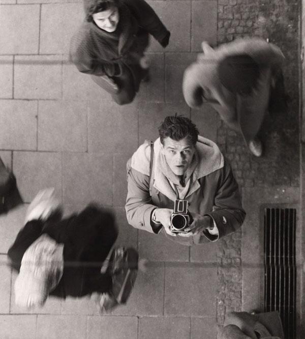 SELF-PORTRAIT WITH CAMERA, Ca. 1950
