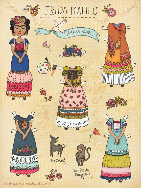 frida_kahlo_paper_doll